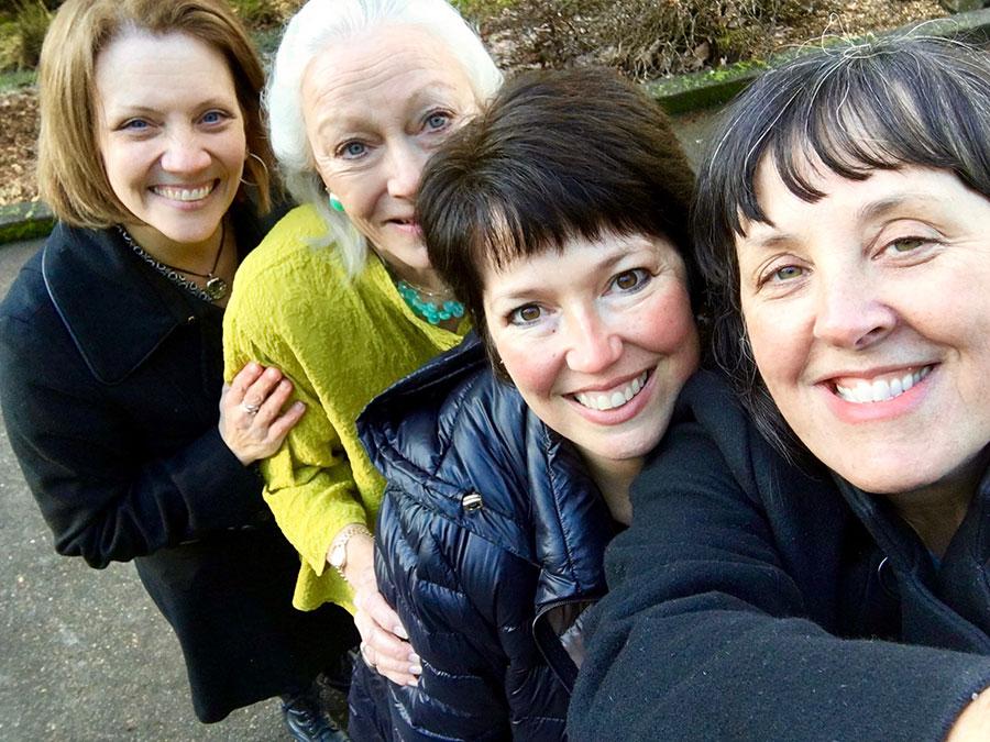 Brenda, Kris, Dawn and Sherrie